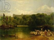 Joseph Mallord William Turner - Windsor Castle from the Thames, c.1805