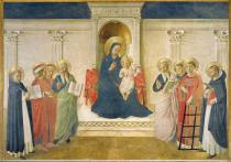 Fra Angelico - The Madonna delle Ombre, 1450
