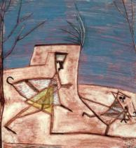 Paul Klee - Fleeing Children, 1930