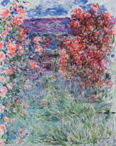 Claude Monet - The House at Giverny under the Roses, 1925