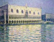 Claude Monet - The Ducal Palace, Venice, 1908