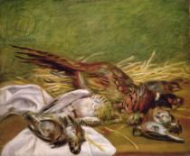 Pierre Auguste Renoir - Pheasant and Thrushes, 1902