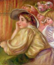 Pierre Auguste Renoir - Coco and the two servants, 1910