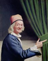 Jean-Etienne Liotard - Self Portrait Smiling, c.1770-73