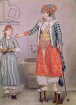 Jean-Etienne Liotard - Turkish Woman with her Slave