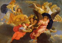 Charles Lebrun - Apotheosis of King Louis XIV of France