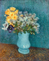 Vincent van Gogh - Vase of Flowers, 1887
