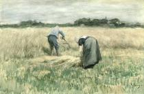 Anton Mauve - The Harvest