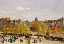Claude Monet - Quai du Louvre, Paris, 1866-7