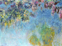 Claude Monet - Wisteria, 1920-25