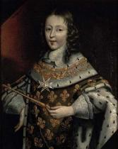 Frans II nach Pourbus - Portrait of Louis XIV (1638-1715) as a boy