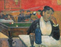 Paul Gauguin - Cafe at Arles, 1888