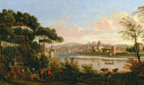 Gaspar Adriaens van Wittel - View of Florence from the Cascine