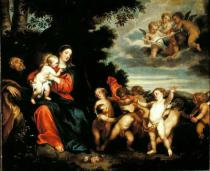 Sir Anthony nach van Dyck - Rest on the Flight into Egypt