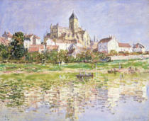 Claude Monet - The Church at Vetheuil, 1880