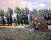 Claude Monet - Haystacks, 1885