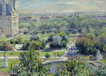 Claude Monet - View of the Tuileries Gardens, Paris, 1876
