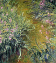 Claude Monet - The Path through the Irises, 1914–17