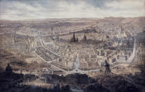 G. Veitto - View of Vienna, c.1860