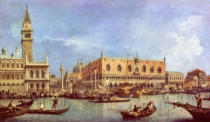 Giovanni Antonio Canaletto - The Molo and the Piazzetta San Marco, Venice
