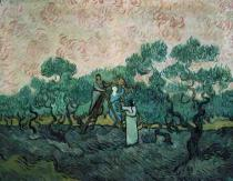 Vincent van Gogh - The Olive Pickers, Saint-Remy, 1889
