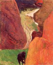 Paul Gauguin - At the Bottom of the Gulf, 1888
