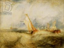 Joseph Mallord William Turner - Van Tromp Going About to Please His Masters - Ships a Sea Getting a Good Wetting, 1844