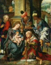 Master of the Prodigal Son - The Adoration of the Magi, 1530