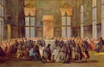 Francesco Guardi - The Doge at the Feast for the Opening of the Carnival of Venice