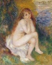 Pierre Auguste Renoir - The Naiad, 1876