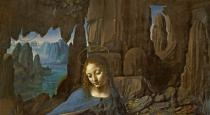 Leonardo da Vinci - Detail of The Virgin of the Rocks , c.1508