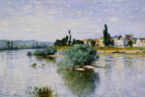 Claude Monet - The Seine at Lavacourt, 1880