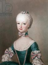 Jean-Etienne Liotard - Marie Antoinette (1755-93) daughter of Emperor Francis I and Maria Theresa of Austria, wife of Louis XVI of France, 1762