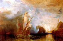 Joseph Mallord William Turner - Ulysses Deriding Polyphemus, 1829