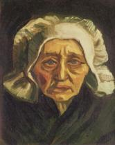 Vincent van Gogh - Head of a Dutch Peasant