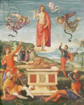 Raphael - The Resurrection of Christ, c.1502