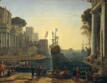 Claude Lorrain - Ulysses Returning Chryseis to her Father