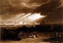Joseph Mallord William Turner - F.16.I The Fifth Plague of Egypt, from the 'Liber Studiorum', engraved by Charles Turner, 1808