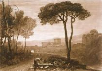 Joseph Mallord William Turner - F.38.I Scene in the Campagna, from the 'Liber Studiorum', engraved by William Say, 1812