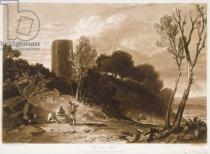 Joseph Mallord William Turner - F.42.I Winchelsea, Sussex, from the 'Liber Studiorum', engraved by J.C. Easling, 1812
