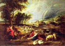 Peter Paul Rubens - Landscape with Rainbow