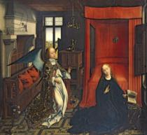 Rogier van der Weyden - The Annunciation to Mary