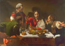 Michelangelo Merisi da Caravaggio - The Supper at Emmaus, 1601