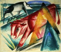 Franz Marc - Animals, 1913