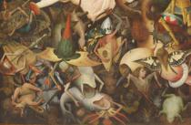 Pieter Brueghel der Ältere - Detail of The Fall of the Rebel Angels, 1562