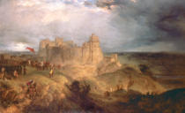 Henry Thomas Dawson - Nottingham Castle: King Charles I Raising his Standard, 24th August 1642