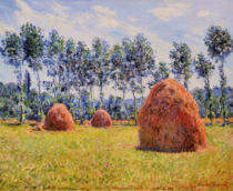 Claude Monet - Haystacks at Giverny, 1884