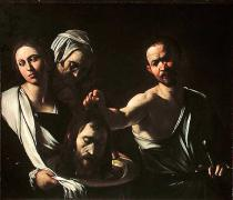 Michelangelo Merisi da Caravaggio - Salome Receives the Head of Saint John the Baptist, 1607-10