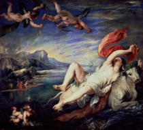 Peter Paul Rubens - Rape of Europa  1628-29