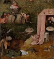 Hieronymus Bosch - An Allegory of Intemperance, c.1495-1500